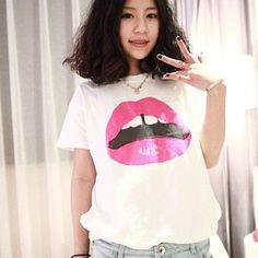Collision Store - Camiseta Lips