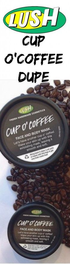 This Lush Cup O'Coffee Dupe is the REAL deal! Currently obsessed with this stuff!!!