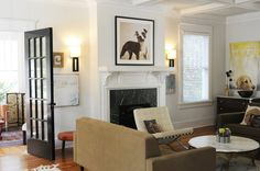Heather & Jeff's Art (and Dog) Friendly Modern Eclectic — House Tour