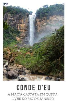 Saiba como chegar à Conde D'Eu, a maior cascata em queda livre do Rio de Janeiro. #riodejaneiro #rj #brasil #br #travel #trip #viagem #viajar #turismo #ferias #trilhas #nature