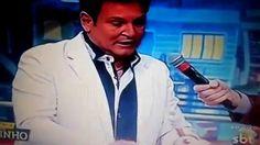 """Apresentador Luis Ricardo é internado após sofrer queimaduras no """"Ratinho"""""""