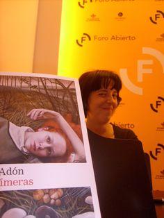"""Presentación de """"Las efímeras"""", de Pilar Adón"""