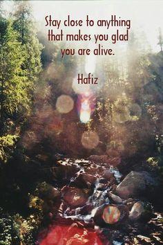 Wisdom Quotes : Hafiz by Life Hafiz Quotes, Quotable Quotes, Me Quotes, Famous Quotes, Faith Quotes, Wisdom Quotes, Kahlil Gibran, Great Quotes, Quotes To Live By