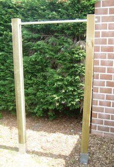 Garden Pull-Up/chin-up Bar, next home improvement project?
