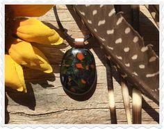The Bohemian Spirit Glass Pendants, Fused Glass, Insects, Spirit, Bohemian, Jewelry, Jewellery Making, Jewlery, Jewelery