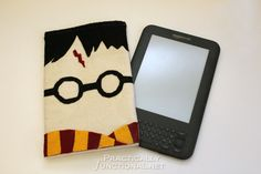 DIY Harry Potter Kindle Cover