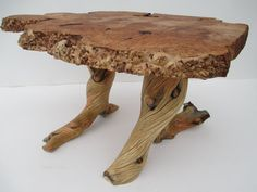 Live edge Maple Burl Coffee Table/ End Table