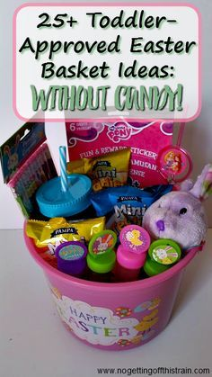 List of 7 easter basket ideas for teen girls easter teen and gift toddler approved easter basket ideas no candy negle Gallery