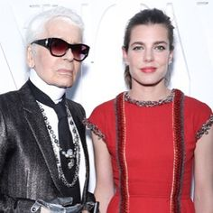 """458 mentions J'aime, 6 commentaires - Charlotte Casiraghi (@charlottecasiraghi) sur Instagram: """"#CharlotteCasiraghi and #karllagerfeld at the Chanel x Vanity Fair party in Cannes """""""