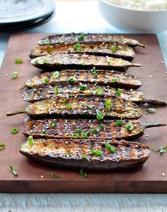 Grilled Miso Glazed Eggplant | 15 Vegetarian Recipes For The Ultimate Australia Day BBQ