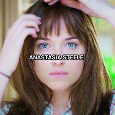 "2,049 Likes, 40 Comments - 🌹 Fifty Shades Trilogy 🌹 (@50shadeshdscenes) on Instagram: ""Anastasia Rose Steele🎀 Swipe!♡ — Q; Favorite TV show?🐘"""