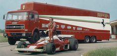 Scuderia Ferrari SpA Sefac - Maranello 1975 with Clay Regazzoni