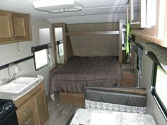 Aspen Trail 2017 1900RB  Aspen Trail has everything you need to feel at home while on the road. From the residential-styled furniture to the optional solid surface countertops and the 60 x 80-inch queen-sized beds you'll always have your home with you.  See more at www.bishoprvcenter.com