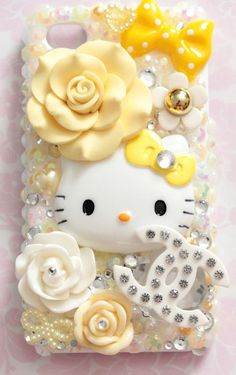 I don't like Hello Kitty, but i LOVE this decodened case! Am definately going to do some decodening in the near future!