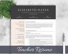 Professional Resume Template CV Template by cvtemplatesbydesign