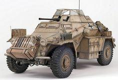 Бронеавтомобиль Sd.Kfz.222 . Масштаб 1/35