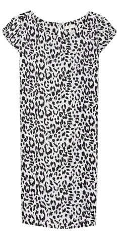 JOIE Weaver Dress Caviar | Leopard Print Dress
