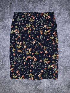 5bb7de89d8 LuLaRoe Cassie Skirt Size Small Blue Green Coral Floral Yoga Waist Stretch  LLR #fashion #clothing #shoes #accessories #womensclothing #skirts (ebay  link)