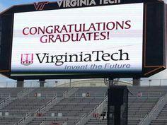 Congrats to the Class of 2014 Virginia Tech #HokieGrad Blacksburg, Virginia