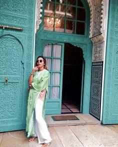 "1,233 Likes, 19 Comments - bakchic باكشيك (@bakchic_thelabel) on Instagram: ""City Walk 💎...#morocco #BakchicOnTour #kaftan #summer"""