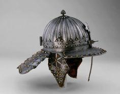 """Yelmo tipo """"Zischagge"""" - ¿Flandes? - 1630-1640 - Art Institute of Chicago"""