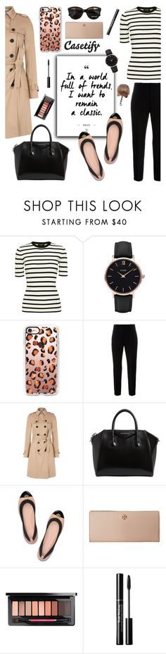 """Lucy Hale Collection+ Casetify"" by glamorous09 ❤ liked on Polyvore featuring Theory, CLUSE, Casetify, Marni, Hobbs, Givenchy, Tory Burch and Max&Co."