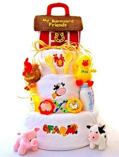 Barnyard Baby Shower Decorating - AA Gifts & Baskets Idea Blog