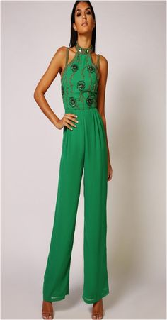 9e4b9bea6bb Virgos Lounge Donna Embellished Jumpsuit http   www.boudoirderry.co.uk