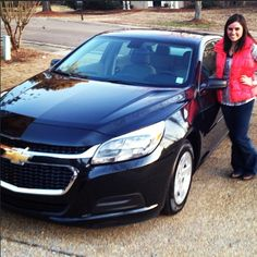 Whitley W. loves her new #Chevrolet #Malibu for the EPA-estimated 36 MPG highway, but there's plenty more where that came from! #ChevyLove