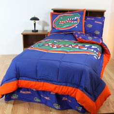 Florida Gators Bed in a Bag w/ Colored Logo Sheets