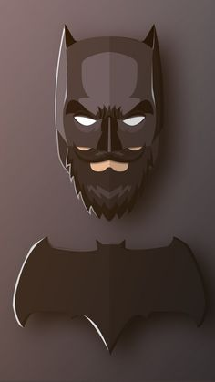 Beard, confident, superhero, batman, 720x1280 wallpaper