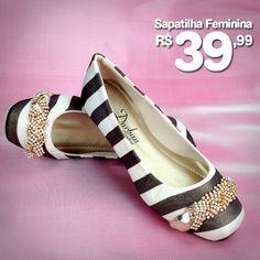 MEGA PROMOÇÃO! Linda Sapatilha Feminina por apenas R$ 39,99!! Compre Online!