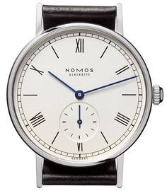 Nomos Glashutte Watch Ludwig #bezel-fixed #brand-nomos-glashutte #case-depth-6-25-mm #case-material-steel #case-width-35-mm #delivery-timescale-call-us #gender-mens #luxury #movement-manual #official-stockist-for-nomos-glashutte-watches #packaging-nomos-glashutte-watch-packaging #subcat-ludwig #supplier-model-no-201 #warranty-nomos-glashutte-official-2-year-guarantee
