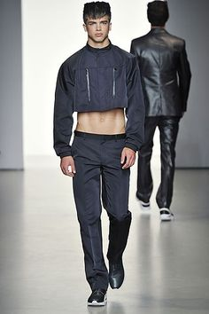 male pattern boldness: The Crop Top for Men (and Women) -- YEA or NAY?