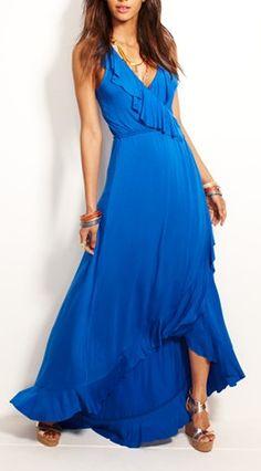 Love this ruffle faux wrap dress http://rstyle.me/n/jufdznyg6