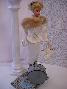 "60""s Bride Mink Silk Vintage Barbie Silkstone Fashion Royalty OOAK 10 PC | eBay"
