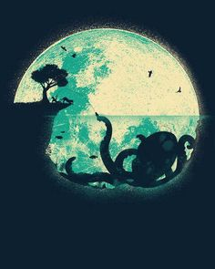 The Tree, The Octopus and The Moon.