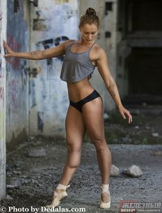 Raisa Strelnikova (Former ballerina turned fitness model)