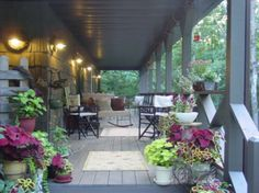 Country Front-Porch Decorating Ideas | Sla op in lookbook Reageer Leuk Vergroten Gaar naar vorige foto Gaar ...