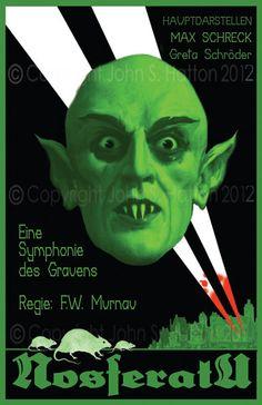Nosferatu fan made poster