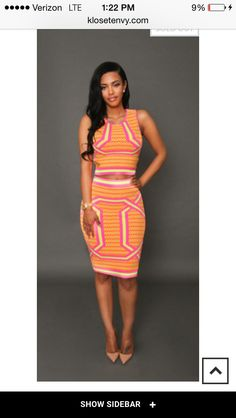 Bright two piece