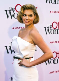 Kate Upton at the premiere of The Other Woman at the Pathé Tuschinski theater in Amsterdam in 2014.