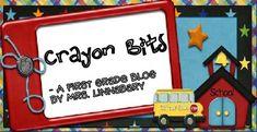 Crayon Bits - a first grade blog Very informative!