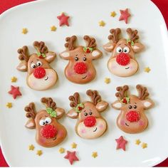 "2,326 Likes, 7 Comments - Brookie's Cookies (@brookiescookiesco) on Instagram: ""Rudolf with your nose so bright won't you guide my sleigh tonight .... ❤️ Love these cookies by…"""