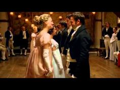 """Jenny's Market"" only ever seen in this Emma production. Here's Emma and Mr. Knightley in the dancing scene"