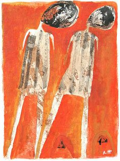 """Two Figures""  www.etsy.com/ca/shop/ScottBergey"