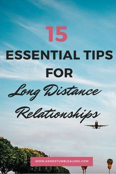 Distance shouldn't mean the end of your relationship- in fact, it should bring you even closer together!  Here's 15 Essential Tools for Long Distance Relationships- a super in depth guide with every thing you need to know before you go long distance, including what you and your partner should know, the essential apps, travel helpers, and fun gifts too!