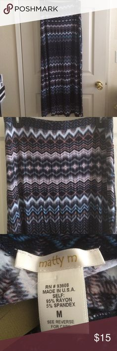 Matty M maxi skirt NWT. 40 inches long. No trades. Offers are welcome. Matty M Skirts Maxi
