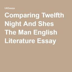 the twelfth night essay