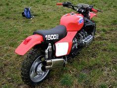 Honda GL 1500 dirtbike!